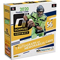 $99 » 2020 Donruss Football Factory Sealed 5 Pack Mega Box - Fanatics Exclusive - Football Wax Packs