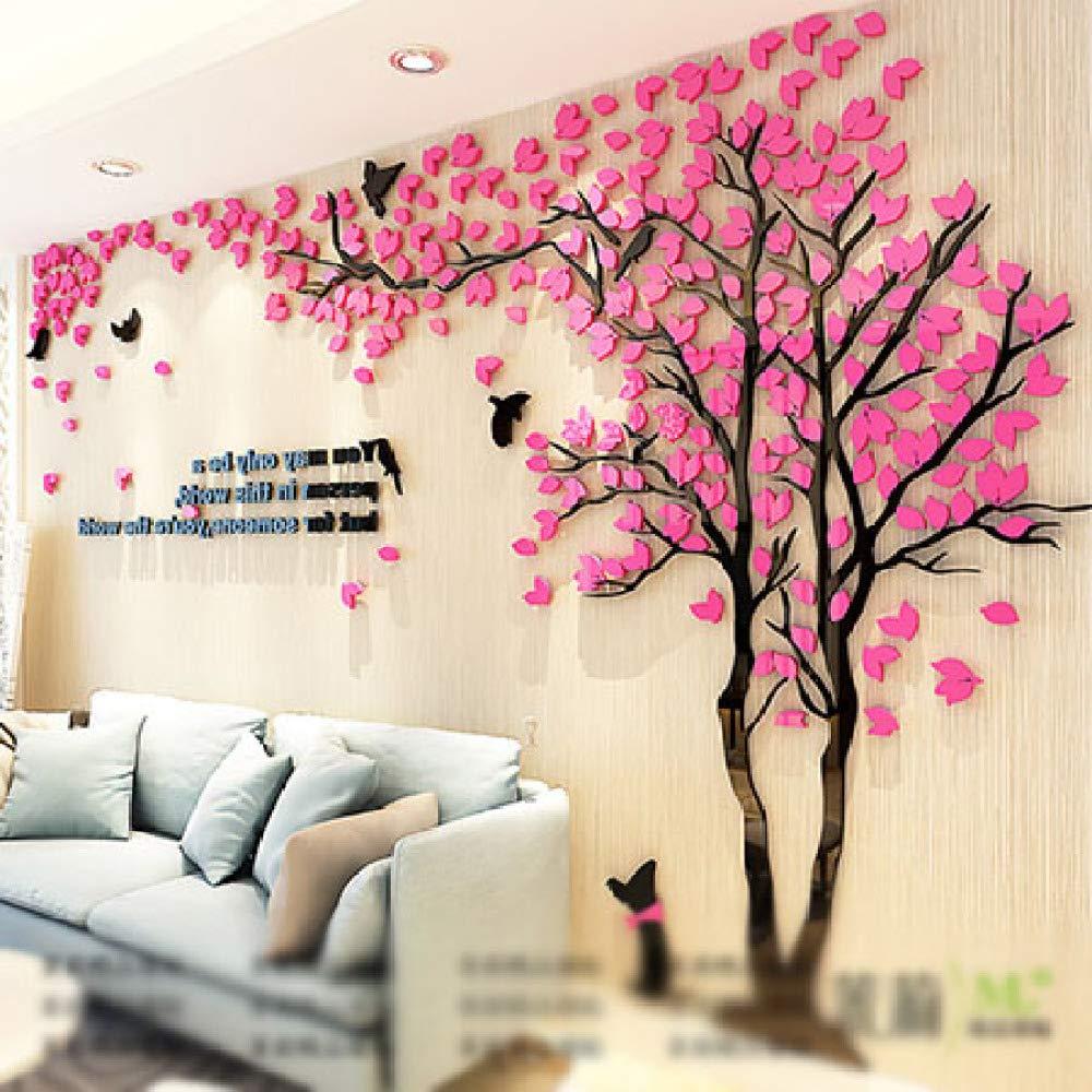 XWH Kreativer Baum   3D   Stereo Stereo Stereo     Wandaufkleber Wohnzimmer   Sofa TV Hintergrund Wand   Indoor Zimmer   Wasserdicht B07GLG1L9R   Um Eine Hohe Bewunderung Gewinnen Und Ist Weit Verbreitet Trusted In-und   b7631b