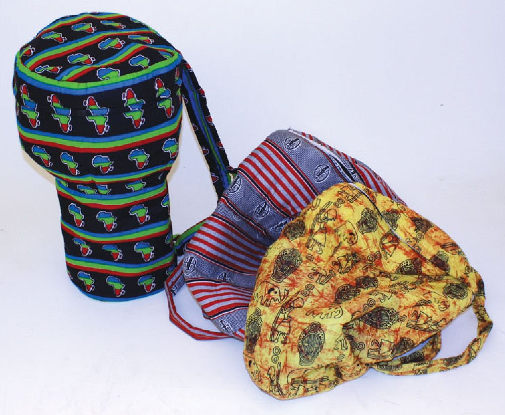 Hand Sewn Djembe Drum Bag