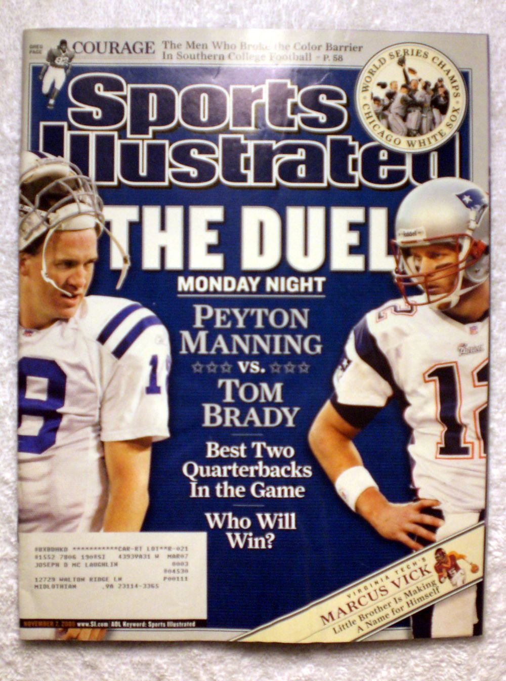 Amazon com: Peyton Manning vs Tom Brady - Best Two