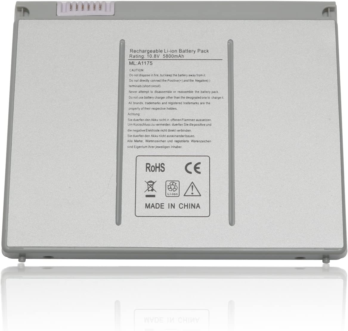 "DJW A1175 Laptop Battery for MacBook Pro 15"" A1175 A1260 A1150 A1211 A1226-12 Months Warranty"