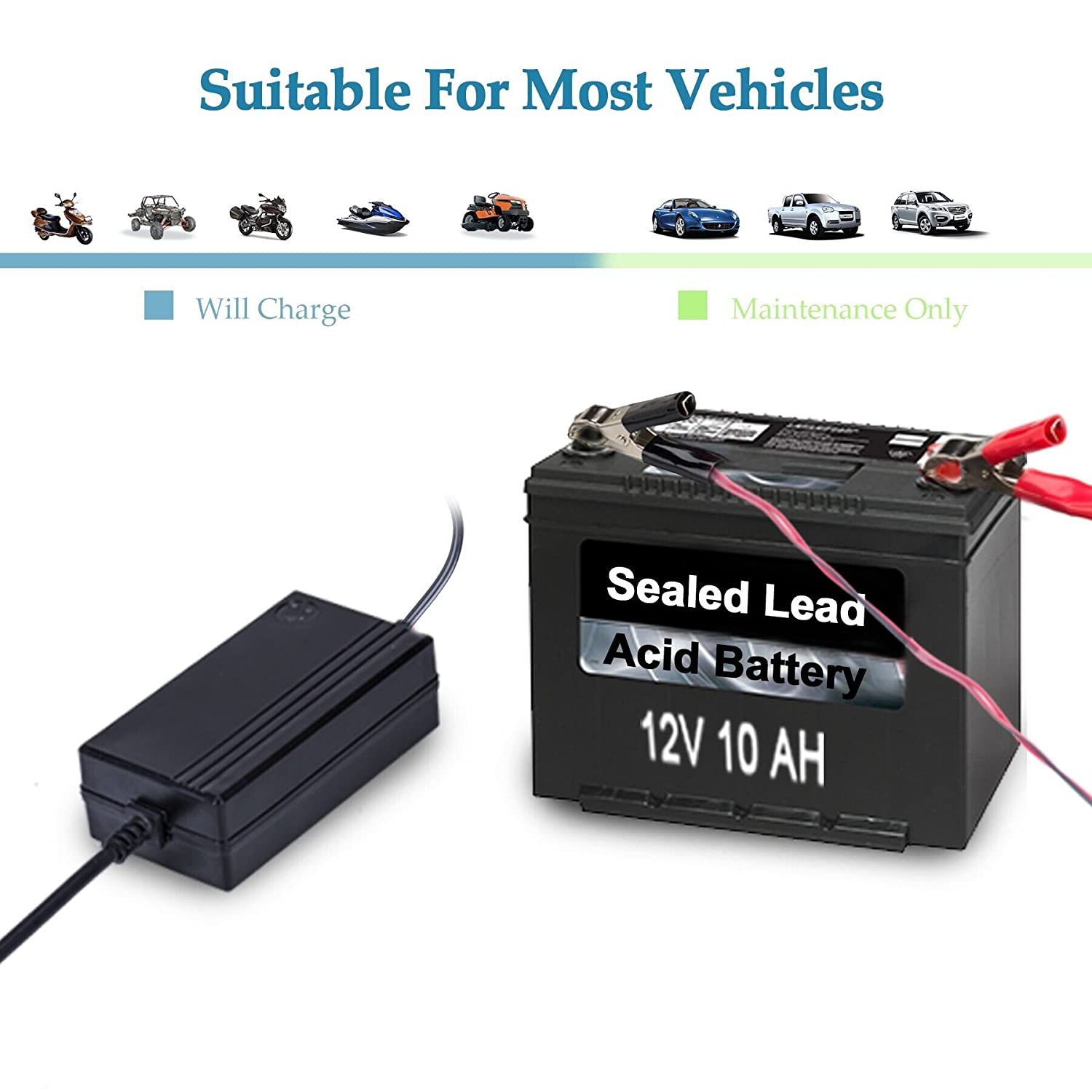 12v To 148v Automatic Lead Acid Battery Charger The Circuit Can Be Used Charge Batteries Maintainer 12 A Trickle For Car Truck Boat Motorcycle Rv Lawn Tractor Automotive