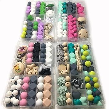 Amazon.com: amyster DIY Collar de lactancia Kit Boxed Mixed ...