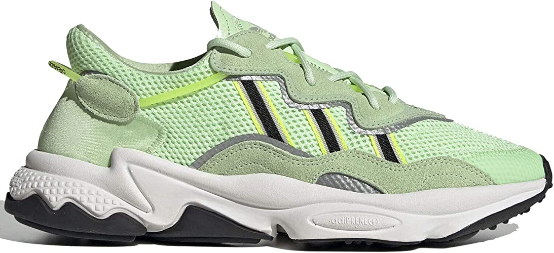 Amazon.com | adidas Ozweego Men's Glow Green/Black/Solar ...