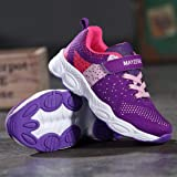 Vivay Girls Tennis Shoes Breathable Running Shoes
