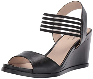 52e0c46955 Amazon.com | LifeStride Women's Blaze Wedge Sandal | Sandals