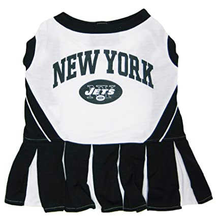 Amazon.com   New York Jets NFL Cheerleader Dress for Dogs - Size ... a07dc7f0d