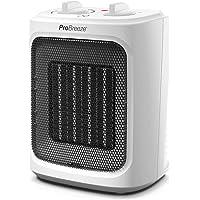 Pro Breeze Mini Calefactor Cerámico de 2000 W- con Ajuste Frío, Tres Niveles de Potencia - para Uso en la Oficina, Casas…