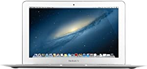 Apple MacBook Air MD711LL/A 11.6-Inch HD Laptop Computer, Intel Core i5 Processor 1.3GHz, 4GB RAM, 128GB SSD, 802.11ac WiFi, USB 3.0, Bluetooth 4.0; MAC OS X (Renewed)