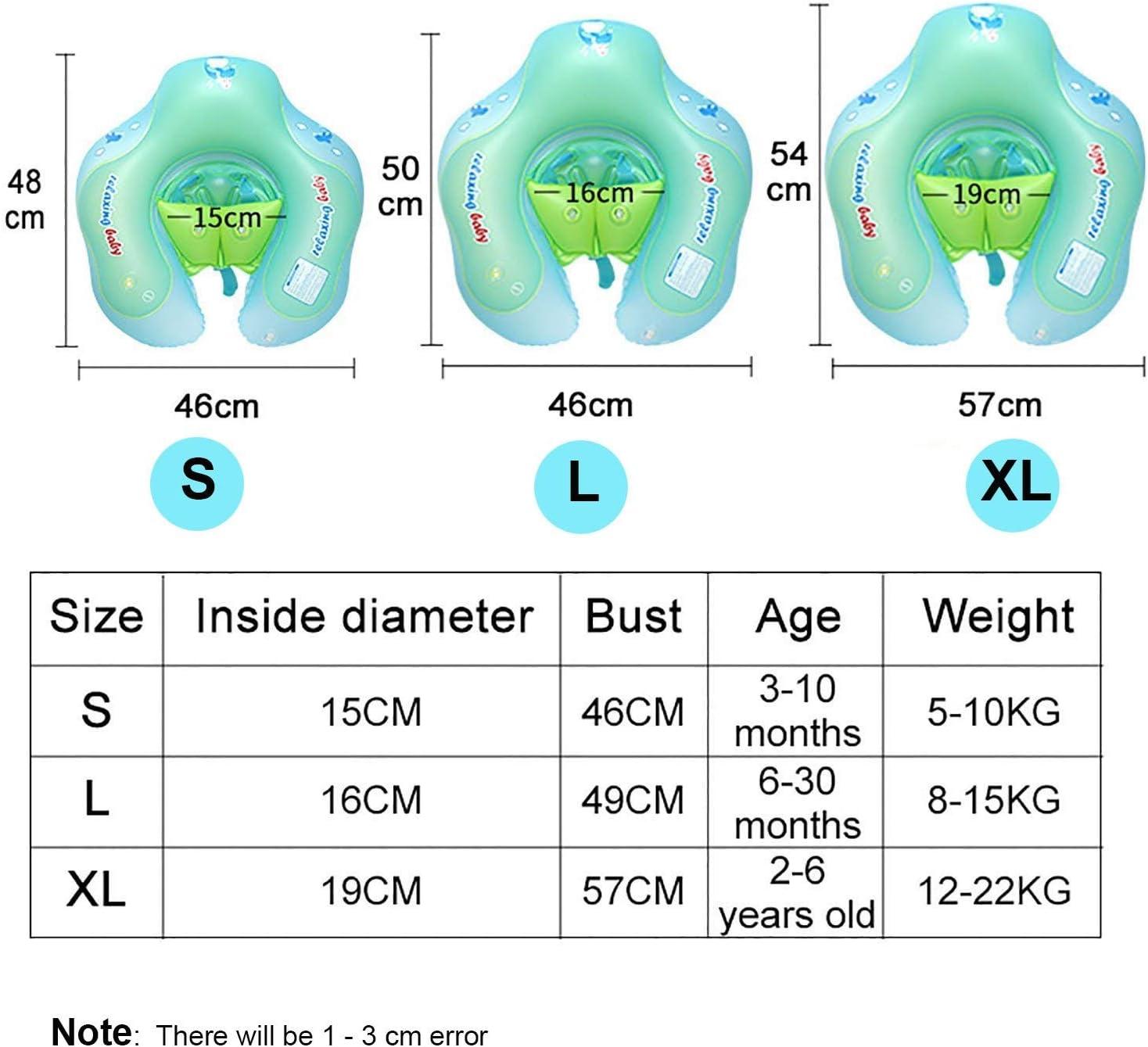 Aperil B/éb/é anneau de natation avec parasol Flamants roses nouveau-n/é flotteur de piscine pour enfants Piscine gonflable pour anneau flottant toit et culotte b/éb/é flotteur pour 0 1 2 3 4 ans 6 18 mois