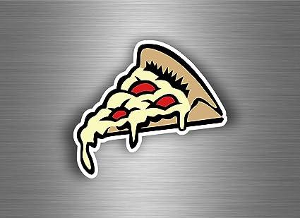 Aufkleber Sticker Auto Motorrad Wand Anteil Pizza Kawaii Tuning Macbook Skateboard