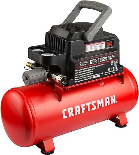 Compresores de Aire Craftsman - Portatil, Cap. 2.0 Galones