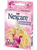 Nexcare Sensitive Barbie  Pansements Enfants Set de 20 Pansements