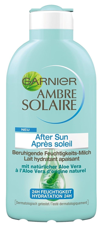 Garnier Ambre Solaire After Sun Beruhigende Feuchtigkeits-Milch, 1er Pack (1 x 200 ml) C02356