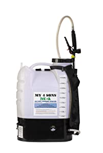 M4 MY4SONS Battery Powered Backpack Sprayer