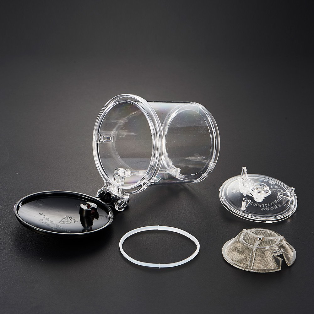 WarmCrystal, Glass Perfect Tea Maker Teapot, Teapots Strainer Included (19 oz) by WarmCrystal (Image #9)