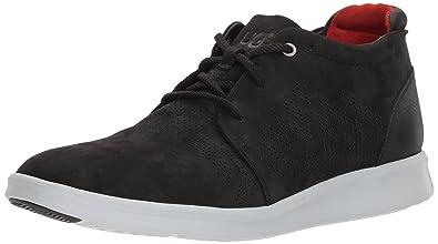 UGG Men's Larken Stripe Perf Sneaker, Black, ...