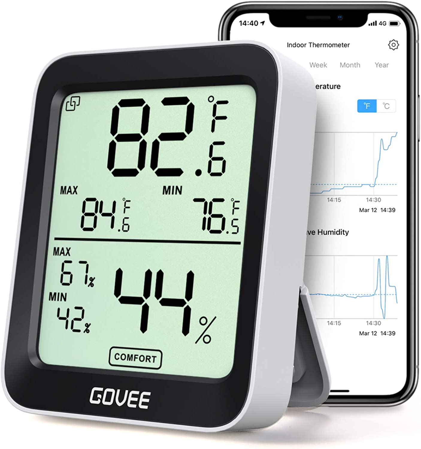 Govee Accurate Indoor Thermometer & Hygrometer