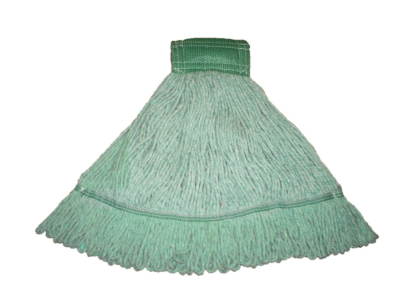 Royce Rolls Premium Loop Mop Small-Size Health Care Blend Preshrunk - Green #5500 Series