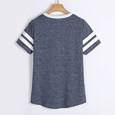 Amazon.com: T Shirts for Womens, FORUU Ladies Printed Casual Summer Short Sleeve Blouse Tops: Clothing