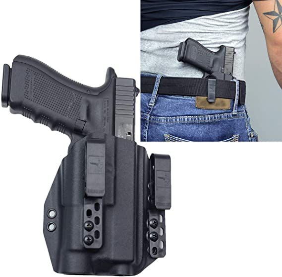 Bravo Concealment Inside The Waistband DOS-Light Bearing Gun Holster