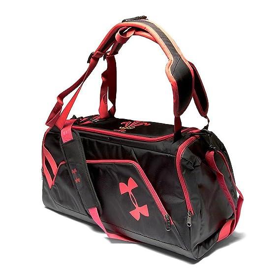 5ffaec2c09b1 Wales WRU 2017 Contain Duffel Bag - Black Red  Amazon.co.uk  Clothing