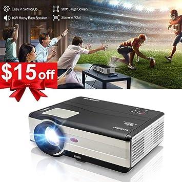 HD Wifi Video juego proyector LED LCD Entretenimiento en Casa con ...