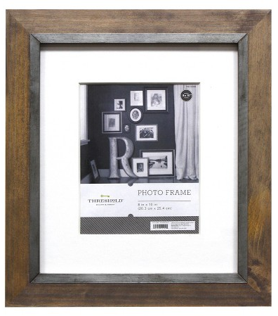 "8""x10"" Frame Grey - Threshold™ : Target"