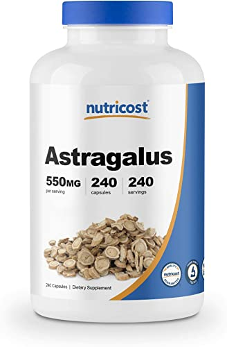 Nutricost Astragalus Capsules 550mg