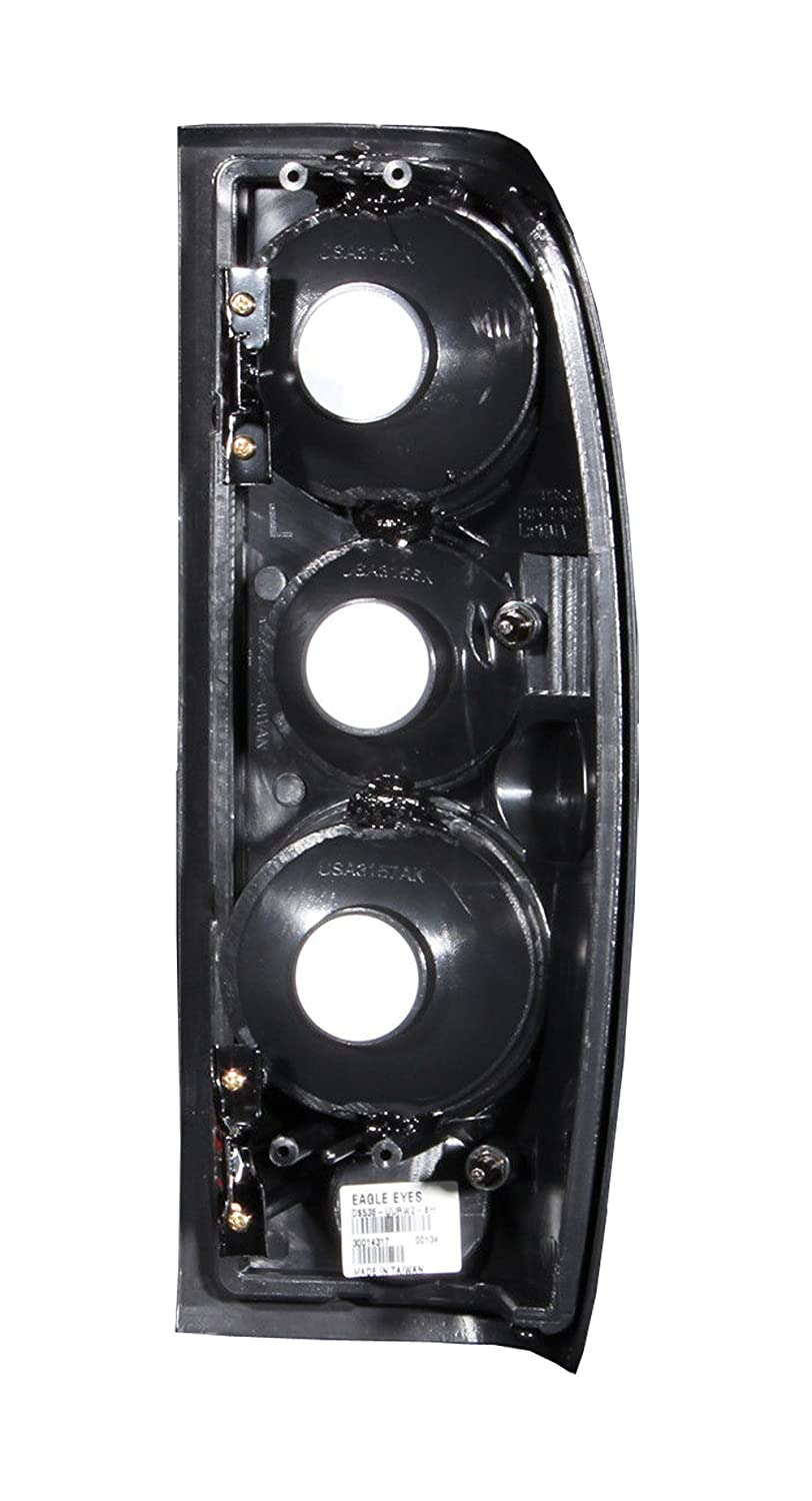 Amazon.com: SPPC Black Euro Tail Light Assembly For Nissan Frontier ...
