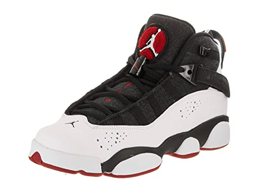 new style dc5bd 2aa62 Jordan 6 Anillo Big Kids Style  323419-014 Size  4 Y US