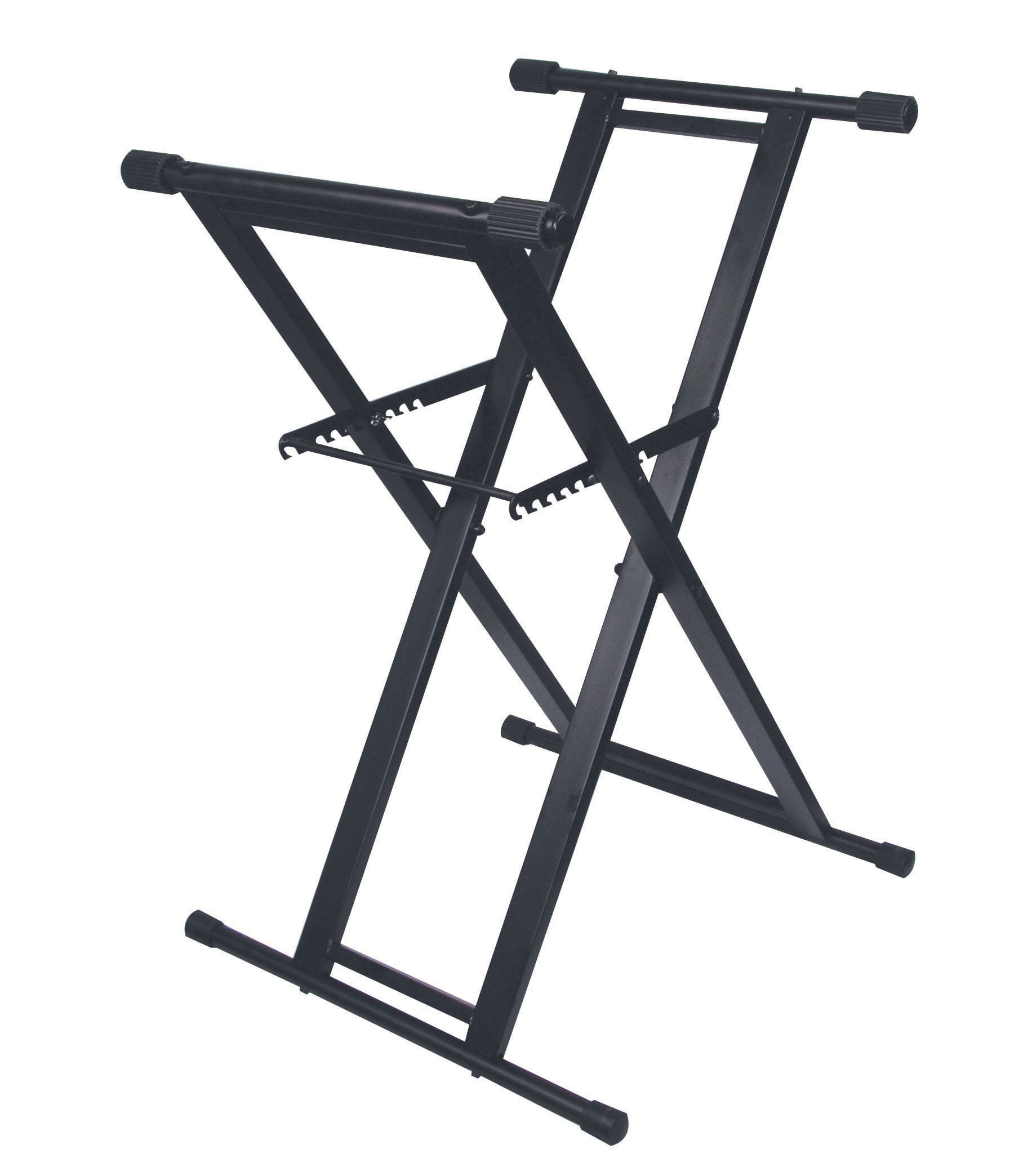 Odyssey LTBXS X-Stand: Double Braced Dj Coffin And Keyboard Stand