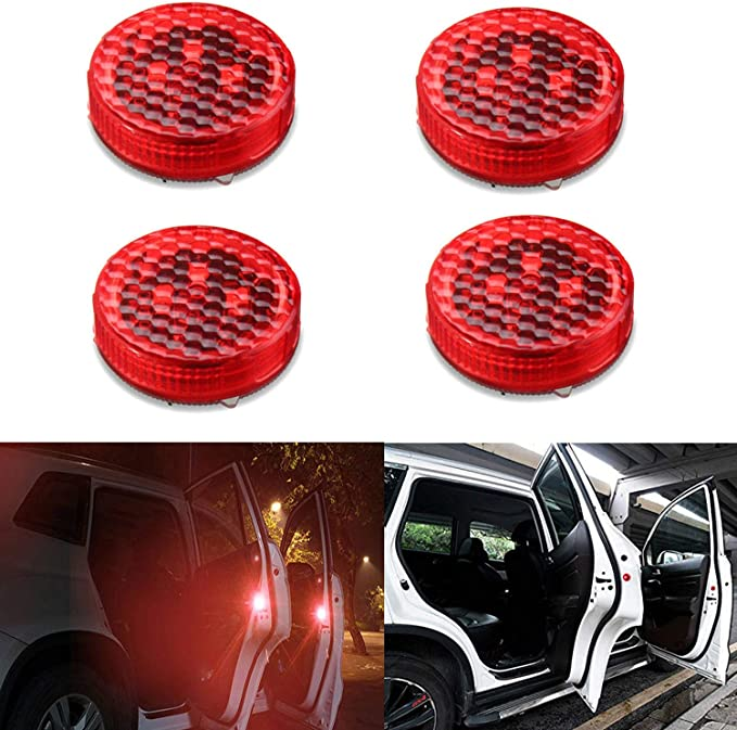 CICMOD Road Flare Flashing Emergency Signal Warning LED Light for Car Truck Pack of 3