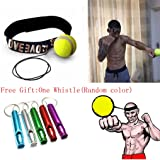 Fight Ball Reflex With Head Band,Ulanda-EU Speed Training Punch Exercise Punch Exercise for Boxing,MMA and Other Combat Sports