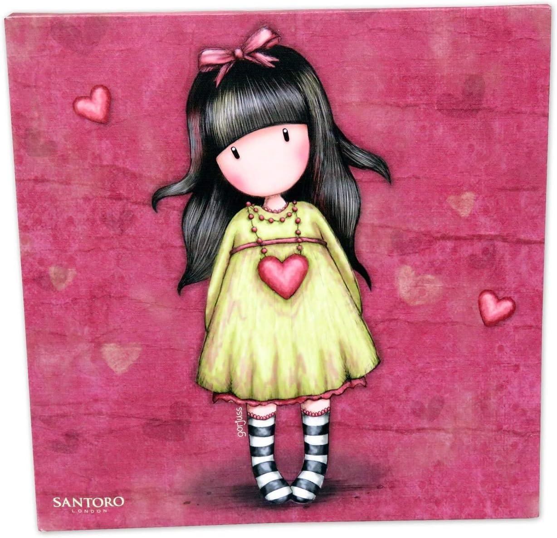 Gorjuss CV-02C-G Lienzo Heartfelt, 25 x 25 cm: Amazon.es: Juguetes y juegos