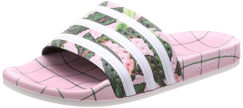 Adidas Adilette W, Zapatillas de Gimnasia para Mujer 41 EU Rosa (Footwear White/Wonder Pink 0)
