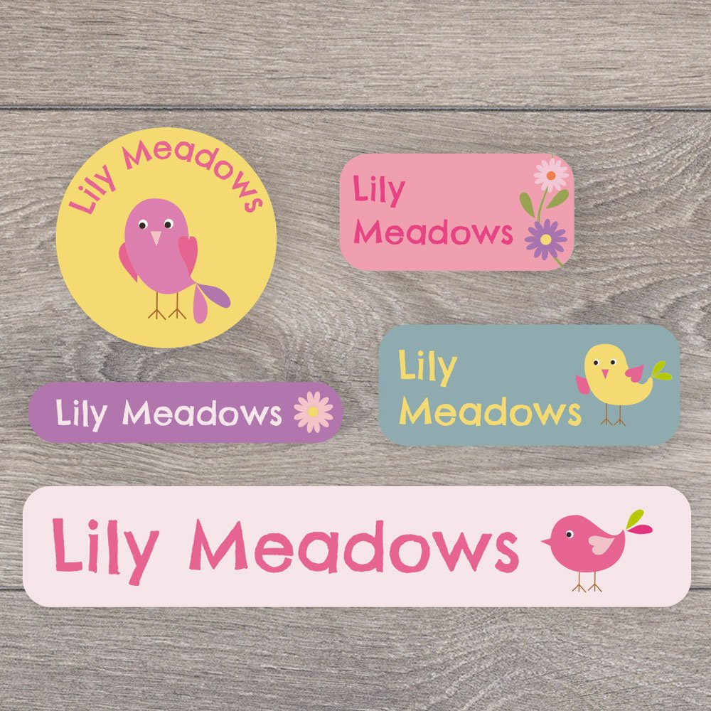 tupperware A range of designs to choose from Perfect for labelling uniforms 171 Iron on and stick on name label pack for children stationary