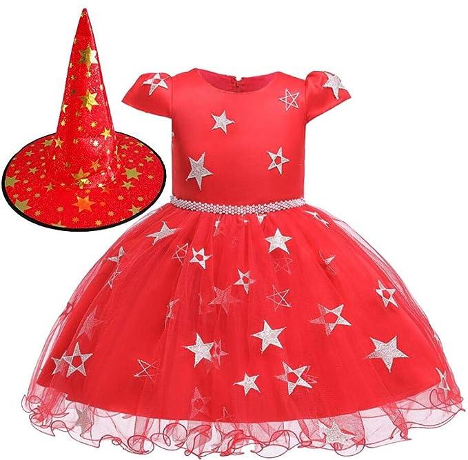LOBTY Disfraz De Bruja De Niñas Traje hechicera Disfraz de Bruja ...