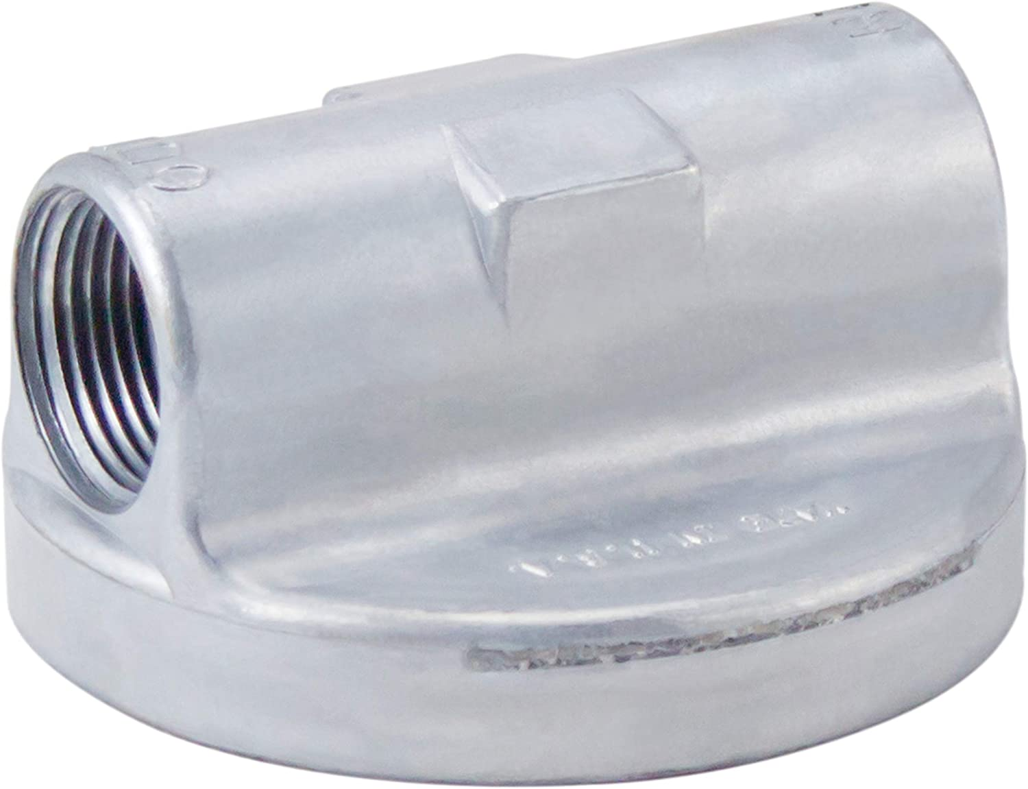 """GOLDENROD 495 Bowl Fuel Tank Filter with 1/"""" NPT Top Cap"""