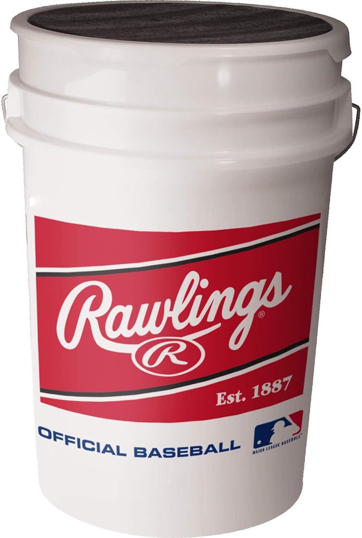 Rawlings ボールバケツ ホワイト