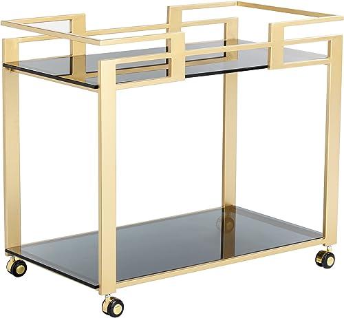 Sunpan Ikon Bar Carts Cabinet