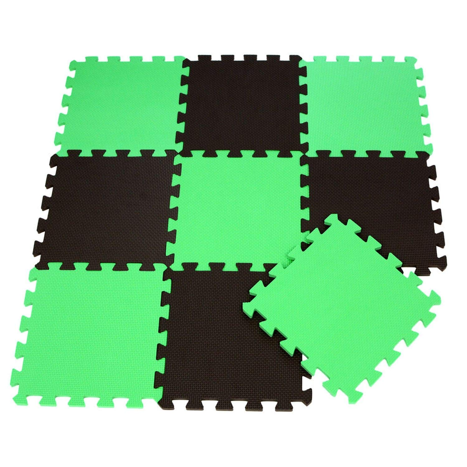 9pcs Eva Baby Kids Crawl Interlocking Floor Tiles Foam Puzzle Exercise Play Mat
