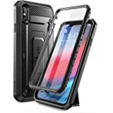 SUPCASE [Unicorn Beetle Pro Series] Case Designed for iPhone XS Max , Full-Body Rugged Holster Case with Built-In Screen Prot