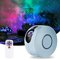 Star Projector, Galaxy Projector with LED Nebula Cloud,Night Light Projector with Remote Control for Kids Adults Bedroom…