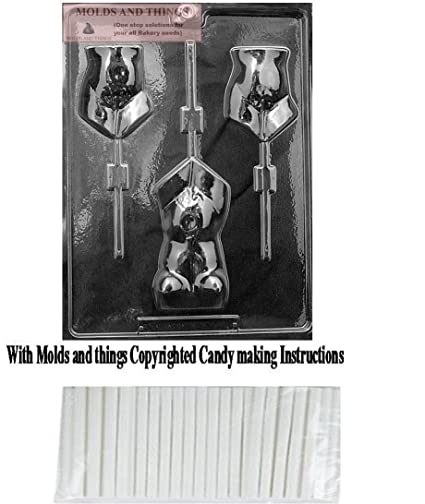 Amazon com: MOLDS AND THINGS Torso Lolly Adult Chocolate