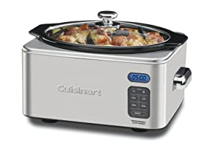 Cuisinart 6.5 Quart Programmable Slow Cooker with Multiple Cooking Options