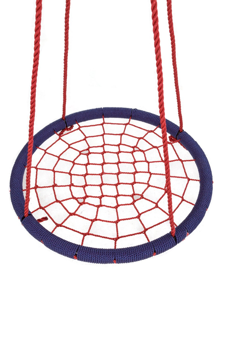 SkyBound Round Tree Swing Nets, Navy Blue/Red, 40''/Large by SkyBound (Image #2)