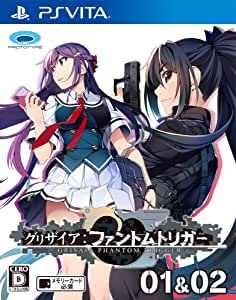 Prototype Grisaia Phantom Trigger 01 & 02 PS Vita SONY Playstation JAPANESE VERSION