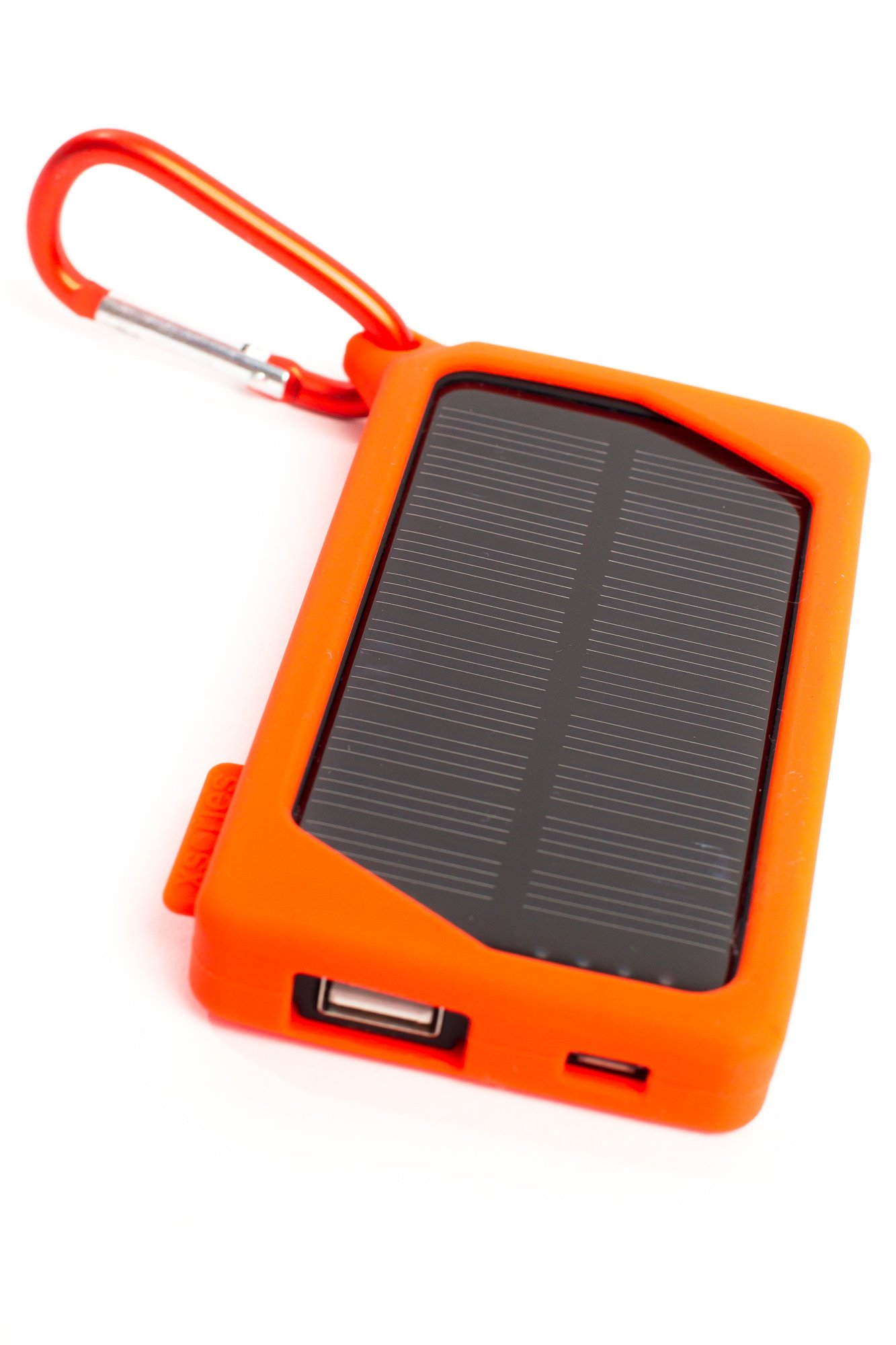 XSOLAR 2000mAh Solar Portable Battery Charger Compact Power Bank Smartphone iPhone iPad Samsung Galaxy