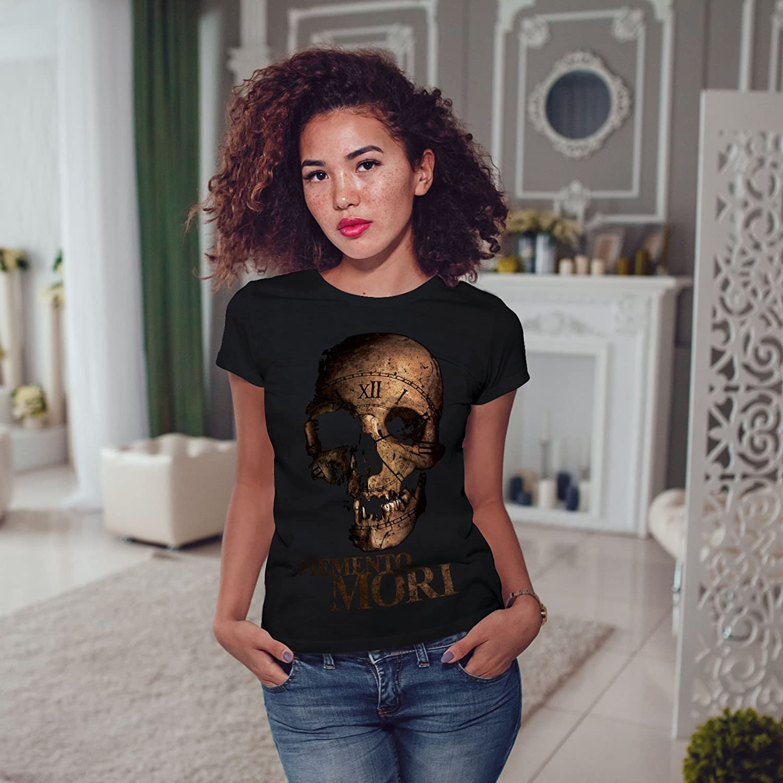 Cards Graphic Design Printed Tee Wellcoda Skull Devil Head Eye Mens T-shirt